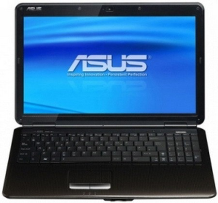 ������������ ���� � ���������� � ��������� Windows 7 ��� ��������� ASUS K50CX5DCPRO5DC