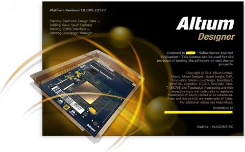 Altium Designer 10.600.22648
