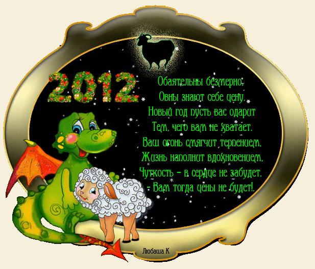 Поздравления с новым годом всем знакам гороскопа