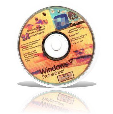 Microsoft Windows XP Professional SP3(OEM)-x14-73341 [Русский]