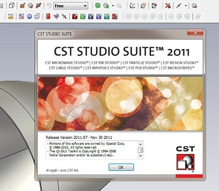 CST Studio Suite 2011.07 SP7 ISZ