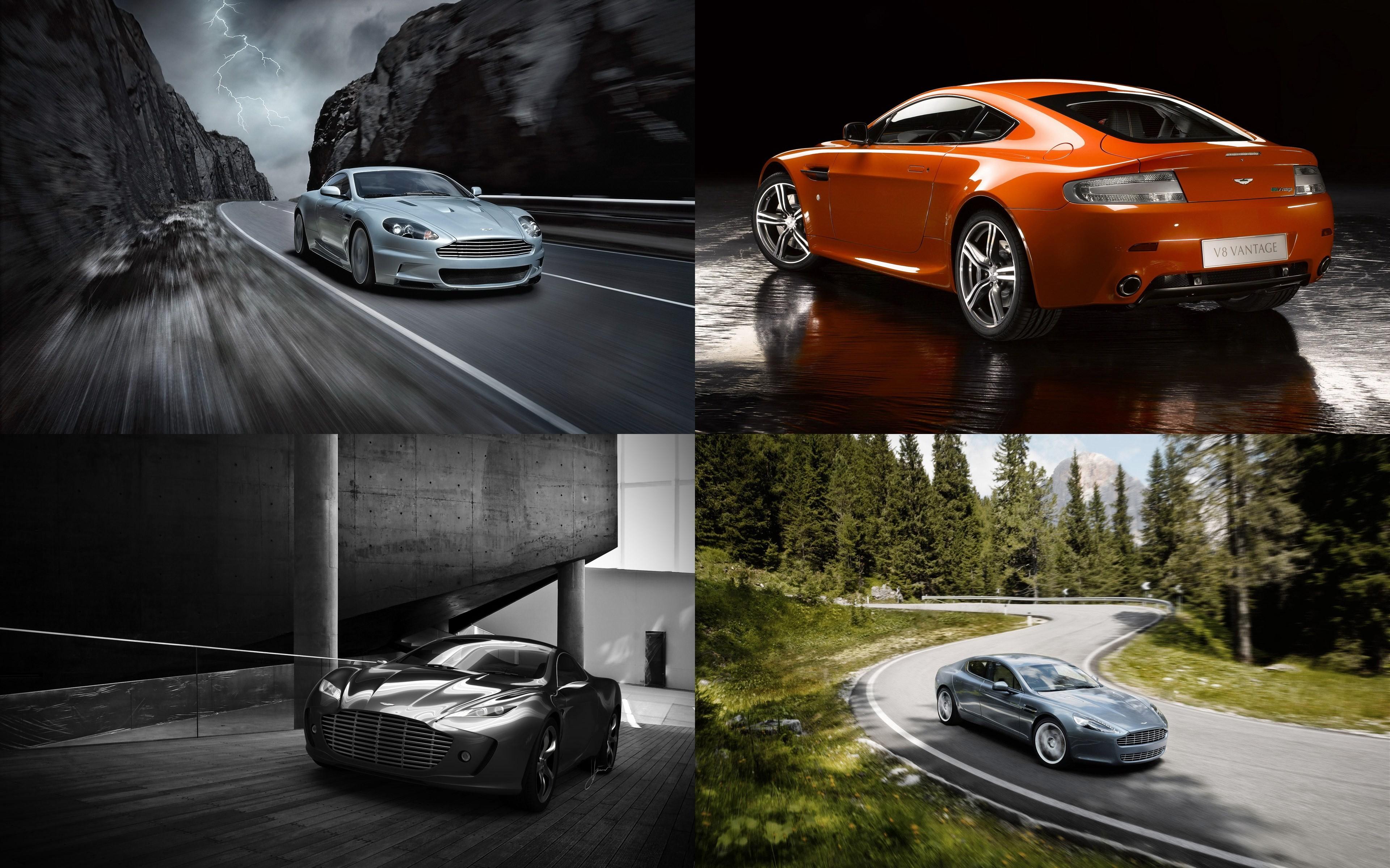 Коллекция автомобилей Aston Martin
