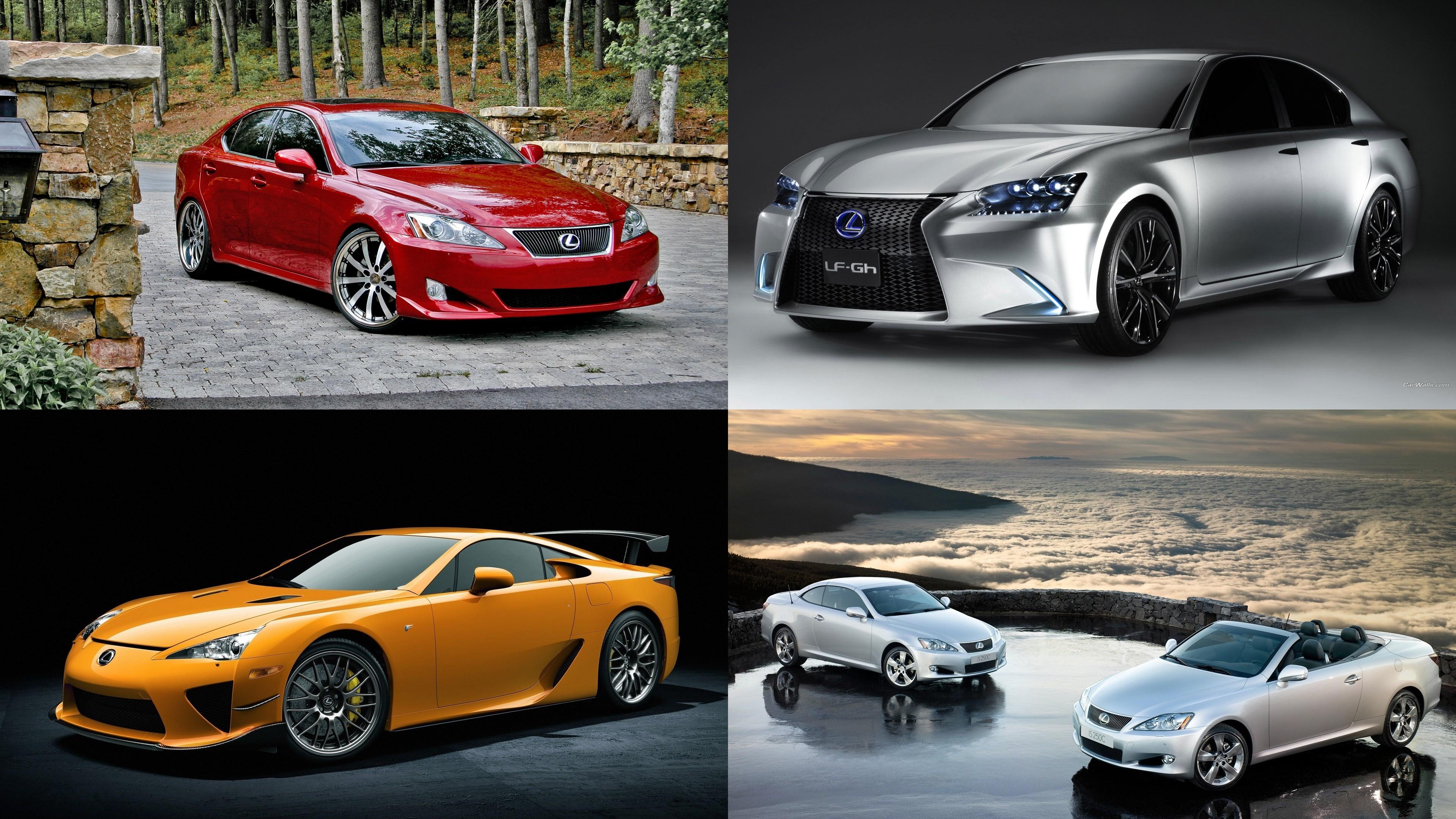 Коллекция автомобилей Lexus