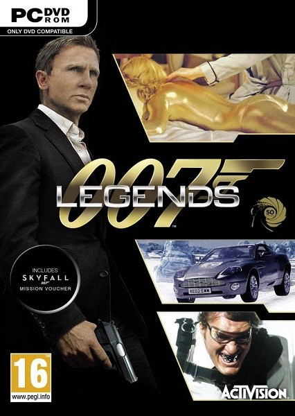 James Bond: 007 Legends (2012/RUS/ENG/MULTI4/Full/Repack)