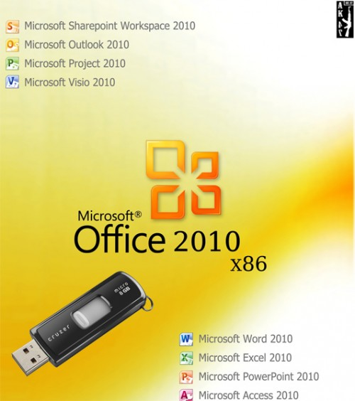 Portable Microsoft Office 2010 v.14.0.5128.5000 (2010/x86/RUS)