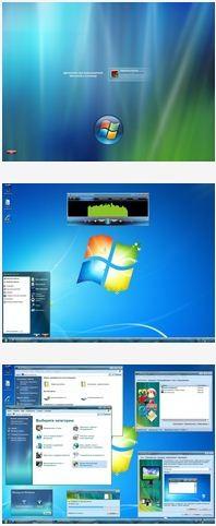 Windows XP Pro VL SP3 v5.1.2600 Aero Green x86 (03.04.2011)