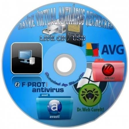 ViAvRe Virtual Antivirus Rechecked Загрузочный Live CD/USB Flash/Image с ан ...