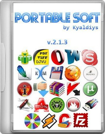 Portable Soft by Kyaldiys v2.1.3 (2012/RUS)