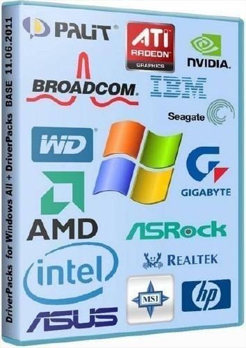 Each DriverPacks for Win 2000/XP/2003/Vista/7 (8/2012)