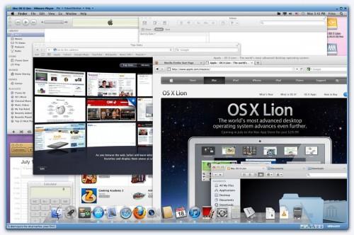 Mac OS X 10.7 Lion Gold Master FINAL (11A511) Windows VMware