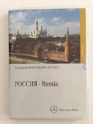 Mercedes Benz NTG 3.5 Map Russia v.4.0 2011 А2168273359 4.0 [2011, Navigation DVD]