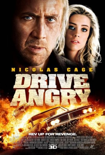 Сумасшедшая езда / Drive Angry 3D (2011) CAMRip