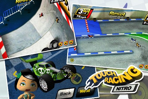 Touch Racing Nitro (NEW/2011/PSP-Mini)