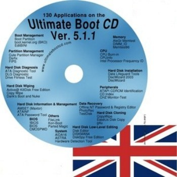 Ultimate Boot CD 5.11
