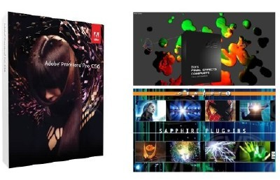 Adobe Premiere Pro CS6.0.1 + Boris Final Effects Complete 6 + Sapphire Visual Effects