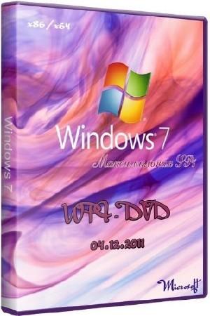 Microsoft Windows 7 Максимальная SP1 x86/x64 WPI - DVD 04.12.2011