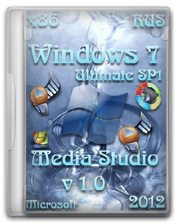 Microsoft Windows 7 Ultimate SP1 x86 ru Media Studio 1.0 (RUS/2012)