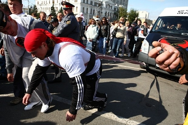 Самый сильный человек Омска – 2012