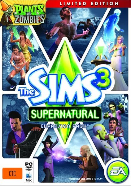 The Sims 3: Supernatural Limited Edition (2012/ENG)