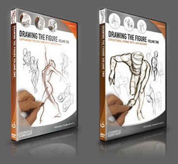 The Gnomon Workshop - Drawing the Figure 1-2 with Jack Bosson (2011-2012) HDRip
