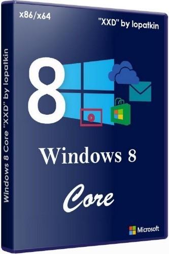 """Microsoft Windows 8 Core x86-x64 RU """"XXD"""" by lopatkin (2012/RUS)"""