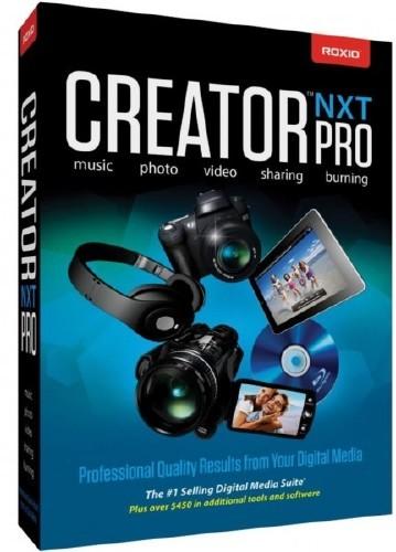 Roxio Creator NXT Pro 2013 14.0.36.0 Build 140B36A (2012) PC