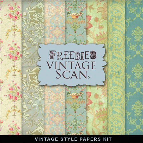 Textures - Old Vintage Backgrounds #72