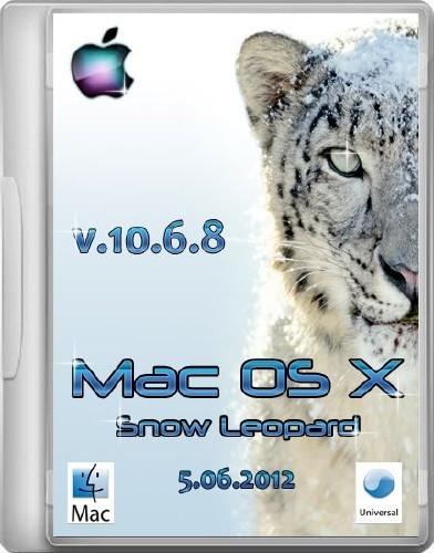 Mac OS X Snow Leopard - 10.6.8 (установленная система для AMD/Intel. Простая и быстрая установка) (5.06.2012/ENG/RUS)