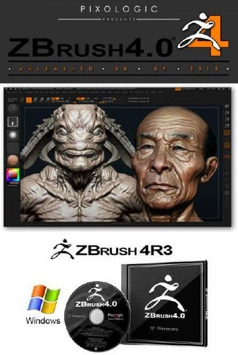 Pixologic ZBrush 4R3 for WIN