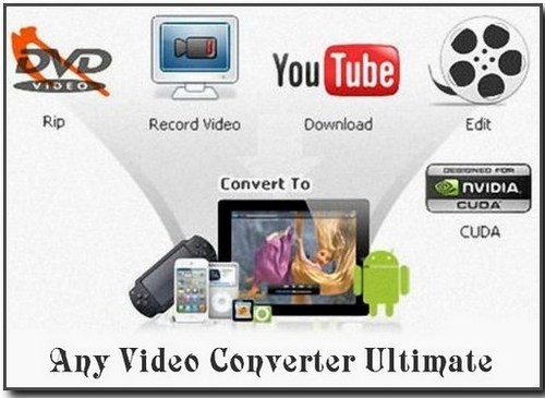 Any Video Converter Ultimate Portable 4.5.7 ML/Rus by PortableAppZ
