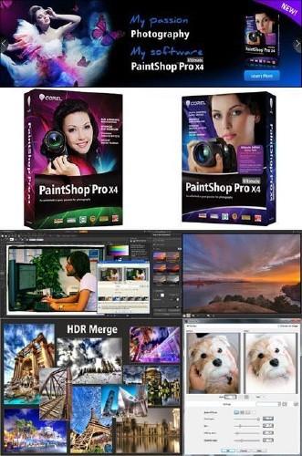 Corel PaintShop Pro X4 14.2.0.1 Portable