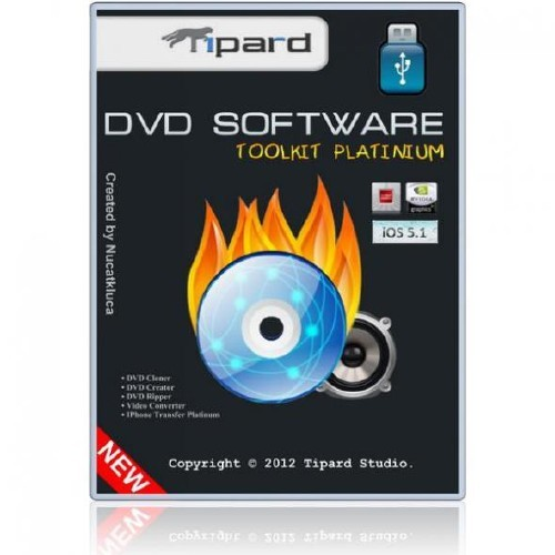 Tipard DVD Software Toolkit Platinum v 6.1.36 Portable