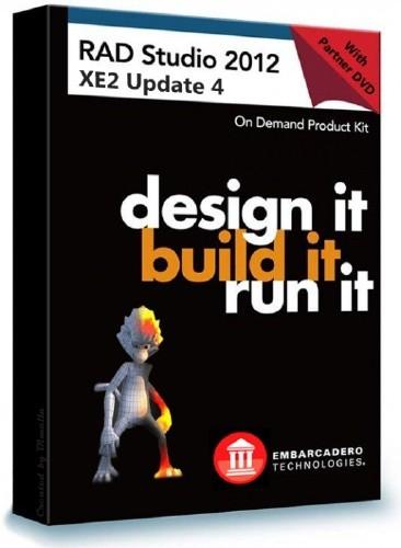 Embarcadero RAD Studio XE2 with Update 4 (4.4.0 Build 1656)