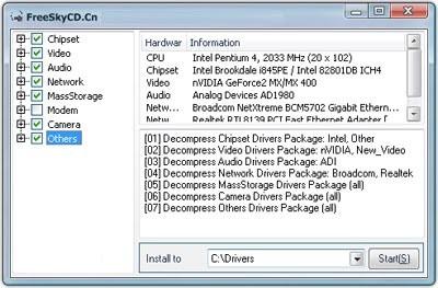 Windows XP SP2 Original + SkyDriverXp v.11