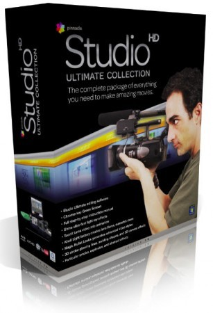 Pinnacle Studio 14 HD Ultimate Collection + Pinnacle Studio Bonus Content 1 ...