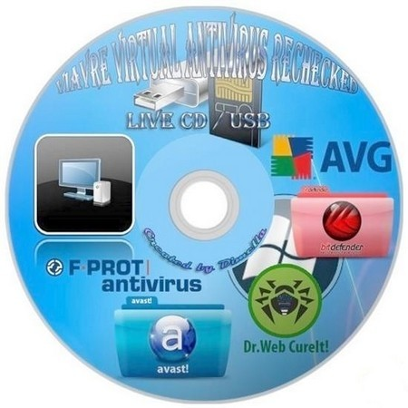 ViAvRe Virtual Antivirus Rechecked Bootable Live CD/USB Flash/Image with Antivirus