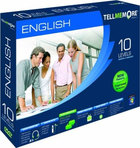 Tell Me More English v10: All 10 Levels [Best Language Learning Software]