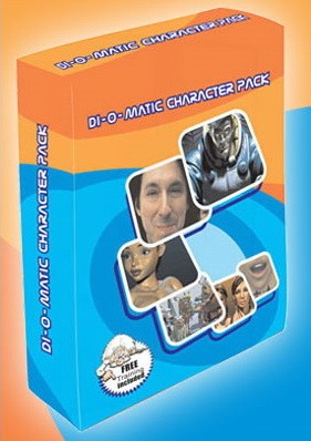 Di-O-Matic Character Pack 1.5 VIP Edition for 3ds Max