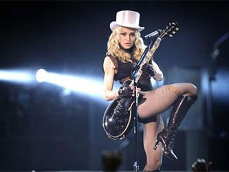 Мадонна поддержала участниц Pussy Riot