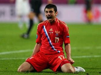 Сборная России разгромила Чехию в первом матче Евро-2012