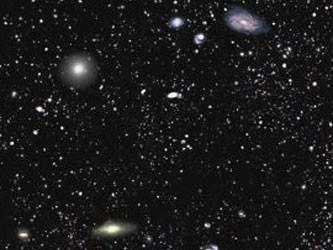 Составлена крупнейшая трехмерная карта галактик и черных дыр