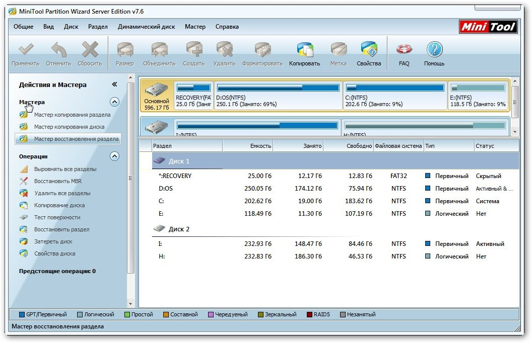 MiniTool Partition Wizard Home Edition 7 7 Portable
