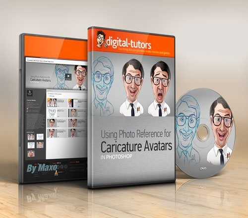 Digital - Tutors - Creating  2D Avatar from  Photo Reference with...