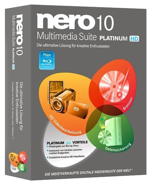 Nero Multimedia Suite 10.6.11800 Platinum HD RePack