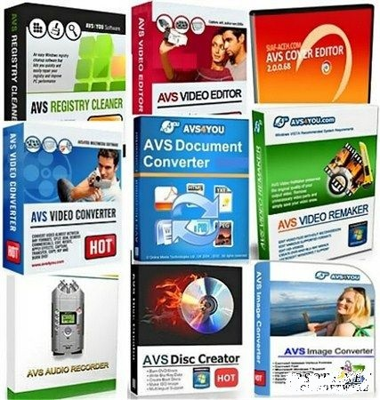 Avs Multimedia Software Collection Aio (June,2012)