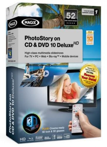 MAGIX PhotoStory on CD & DVD 10 DeluxeHD v10.0.53 + Crack