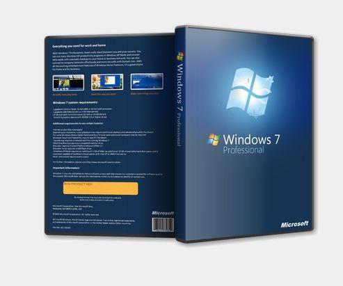 WINDOWS 7 PROFESSIONAL SP1 x86 REACTOR