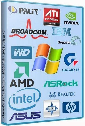 DriverPacks for Windows 2000 / XP / 2003 / Vista / 7 (10.06.2012)