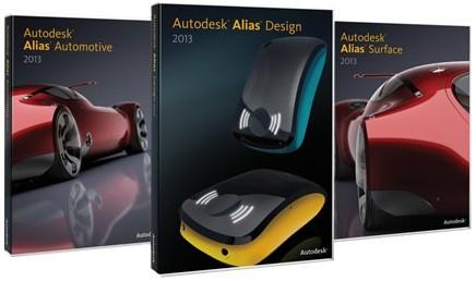 Autodesk Alias Suite 2013 x86/x64 (ENG/2012)