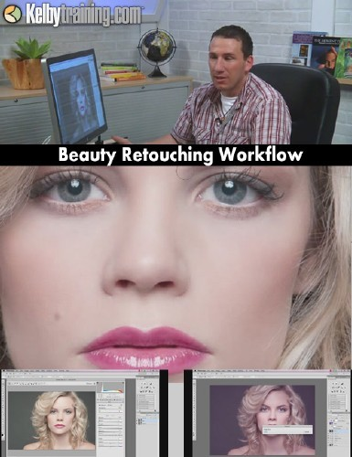 Beauty Retouching Workflow: The Calvin Hollywood Way - Kelby Training